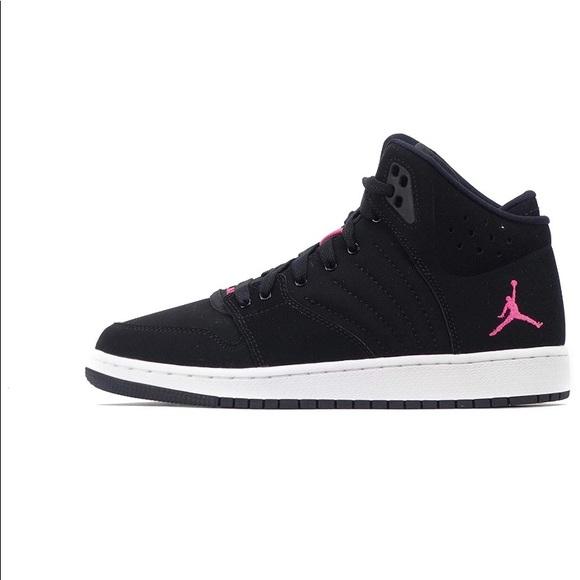 dedbc6f33380cc Nike Air Jordan 1 Flight 4 Prem GG 6Y   Women 7.5